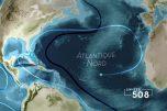 Carte des mers